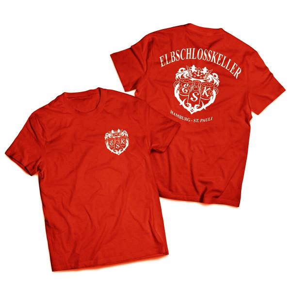 T-Shirt - Elbschlosskeller [rot]