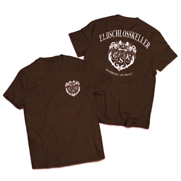 T-Shirt - Elbschlosskeller [braun]