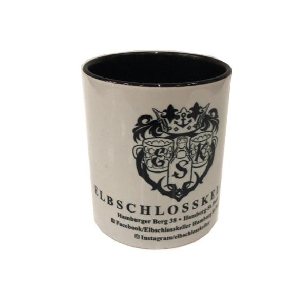 Elbschlosskeller - Sammel-Tasse [weiß/schwarz]