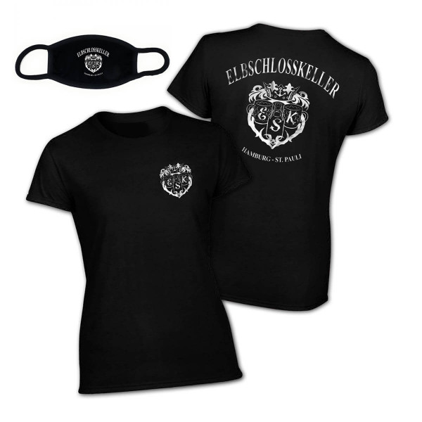 Elbschlosskeller - T-Shirt-Masken-Bundle [Girls]