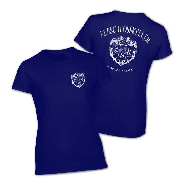 T-Shirt - Elbschlosskeller Girls [blau]