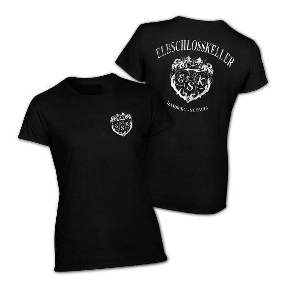 T-Shirt - Elbschlosskeller Girls [schwarz]