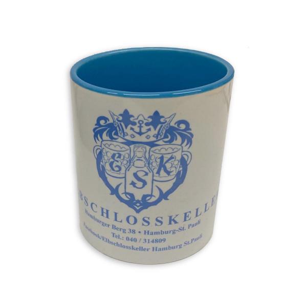 Elbschlosskeller - Sammel-Tasse [weiß/blau]