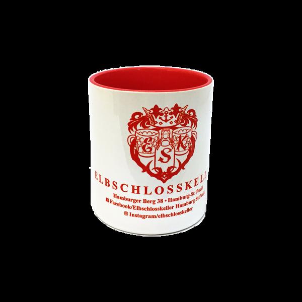 Elbschlosskeller - Sammel-Tasse [weiß/rot]