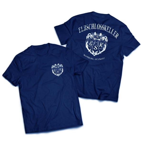 T-Shirt - Elbschlosskeller T-Shirt [blau]